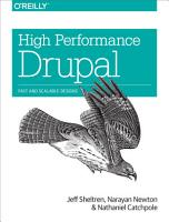 High Performance Drupal PDF