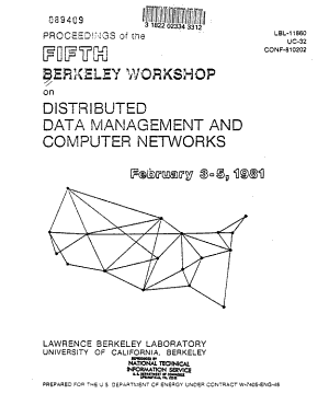 Proceedings of the Fifth Berkeley Conference on Distributed Data Management and Computer Networks