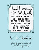 Hand Lettering 101 Workbook