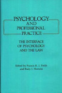 Psychology and Professional Practice