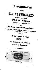 Reflexiones sobre la naturaleza: Volumen 4