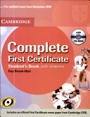 Complete first certificate PDF