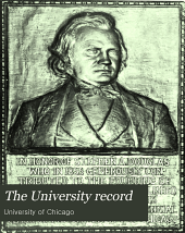 The University Record: Volume 6