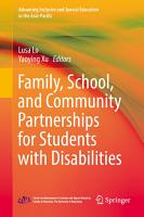 Family  School  and Community Partnerships for Students with Disabilities PDF