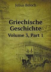 Griechische Geschichte: Teil 1