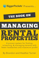 The Book On Managing Rental Properties Book PDF