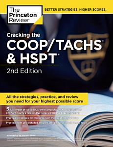 Cracking the COOP TACHS   HSPT  2nd Edition Book
