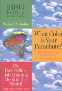 What Color Is Your Parachute  Book PDF