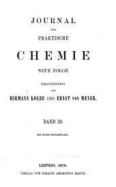 Journal für praktische Chemie: Band 20;Band 128