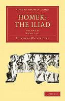 Homer, the Iliad