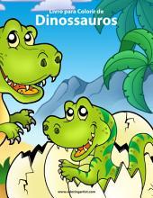 Livro para Colorir de Dinossauros 1