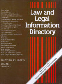 LAW AND LEGAL INFORMATION DIRECTORY PDF