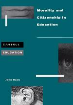Morality and Citizenship in Education