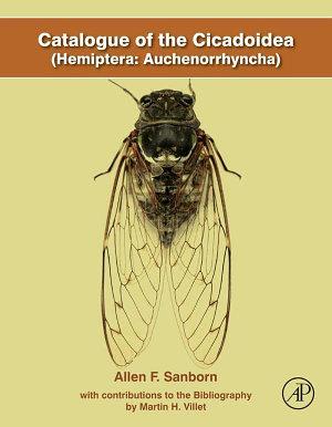 Catalogue of the Cicadoidea  Hemiptera  Auchenorrhyncha