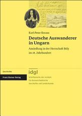 Deutsche Auswanderer in Ungarn PDF