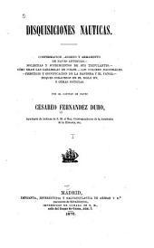 Disquisiciones nauticas: Volumen 1