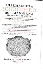 Pharmacopoea Schroedero-Hoffmanniana illustrata