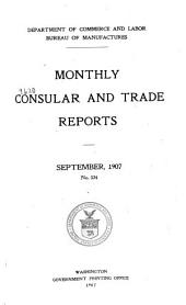 Monthly Consular and Trade Reports: Volume 85, Issues 324-327