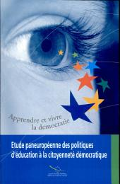 All-european Study on Education for Democratic Citizenship Policies