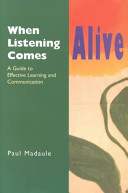 When Listening Comes Alive Book