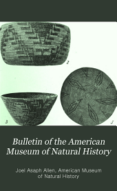 Bulletin of the American Museum of Natural History: Volume 17