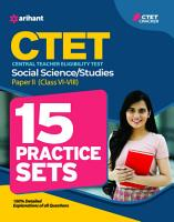 15 Practice Sets CTET Social Science Paper 2 for Class 6 to 8 for 2021 Exams PDF