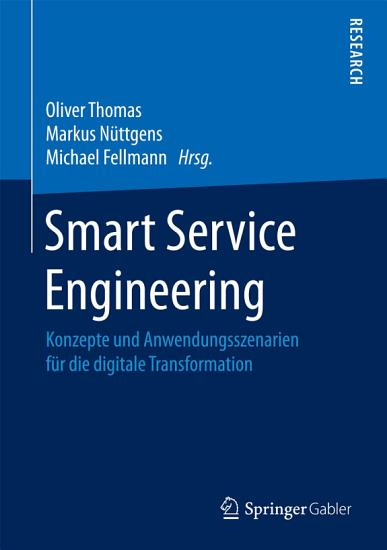 Smart Service Engineering PDF