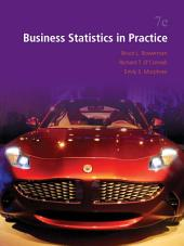Business Statistics in Practice: Seventh Edition