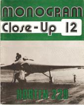 Horten 229-A Monogram Close-up Book