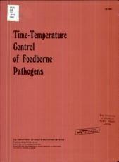 Time-temperature Control of Foodborne Pathogens