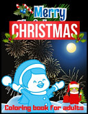 Merry Christmas Coloring Book for Adults PDF
