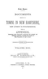 Provincial and State Papers: Volume 13