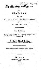 Apollonius von Tyana und Christus ...