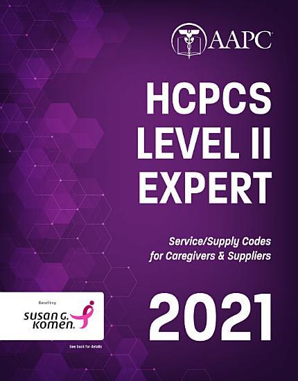 HCPCS Level II Expert 2021 PDF