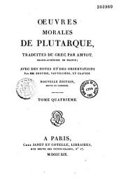 Oeuvres morales de Plutarque: Volume2