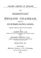 Reed & Kellogg's Graded Lessons in English
