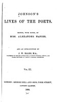 Johnson s Lives of the Poets PDF