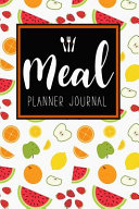 Meal Planner Journal Book