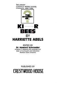 Killer Bees PDF