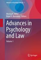 Advances in Psychology and Law PDF