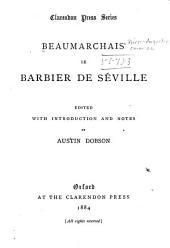 Beaumarchais' Le barbier de Séville