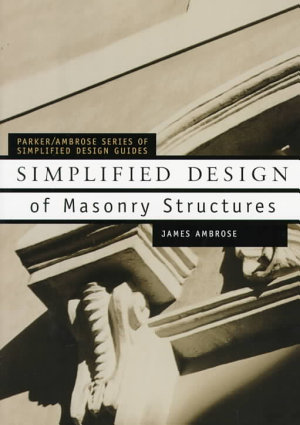 Simplified Design of Masonry Structures PDF