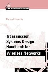 Transmission Systems Design Handbook for Wireless Networks PDF