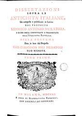 Dissertazioni sopra le antichita italiane, 1