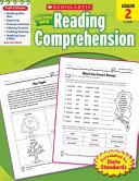 Scholastic Success With Reading Comprehension  Grade 2 Book