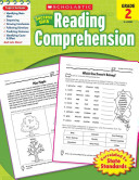 Scholastic Success With Reading Comprehension  Grade 2 Book