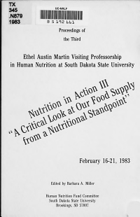 Nutrition in Action III PDF
