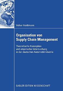 Organisation von Supply Chain Management PDF