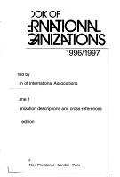 Yearbook of International Organizations PDF
