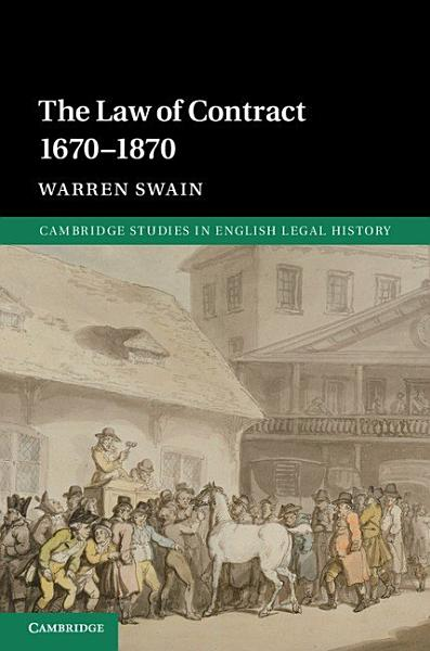 Download The Law of Contract 1670   1870 Book